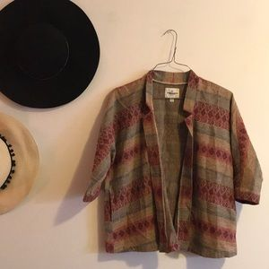 Kimono-like blazer
